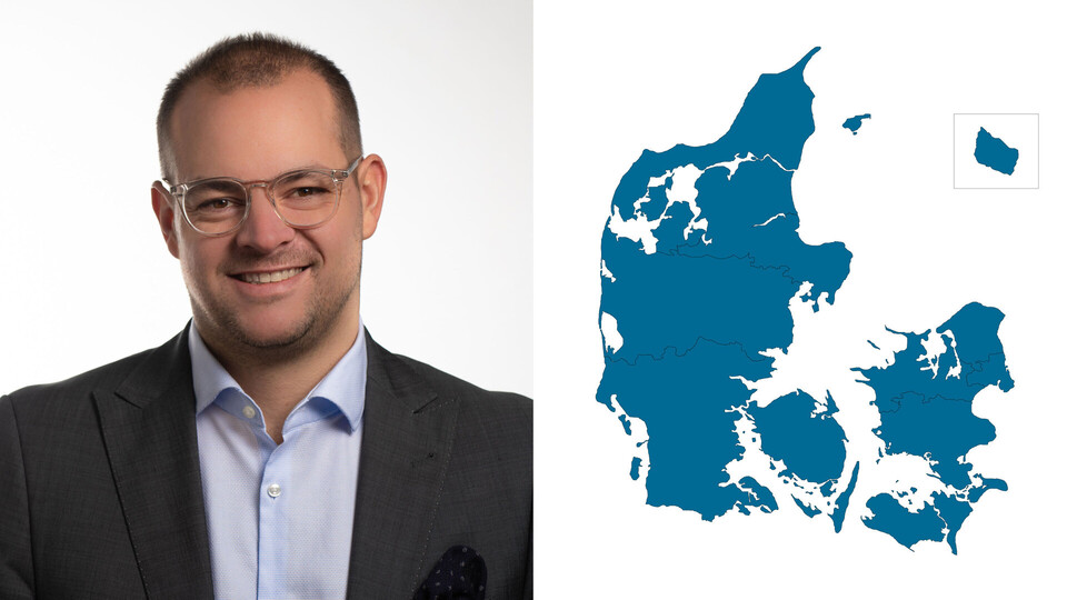 contact person, sales managemetn, profile and map, thomas vilmar, DK