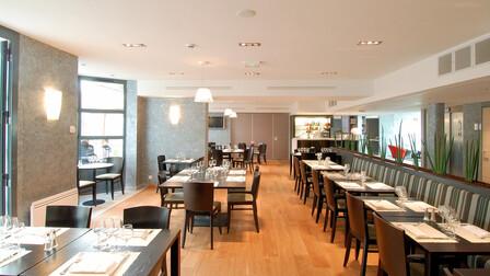 Hotel Best Western Le Liberté, MONO ACOUSTIC, Royal (1200x1200), Royal Teg, Royal Hygiène (Hygienic Plus), Hall, Restaurant, kitchen, circulation, office