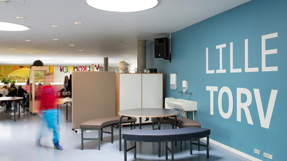 Nordstjerne Skolen school education Sonar X-edge ROCKFON Creo Arkitekter