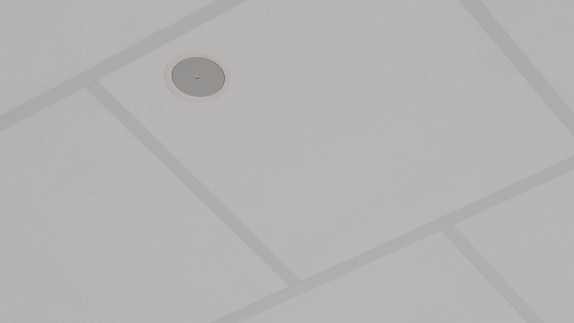 Akustikløsning: Rockfon® Boxer™, AEX, 1200 x 1200